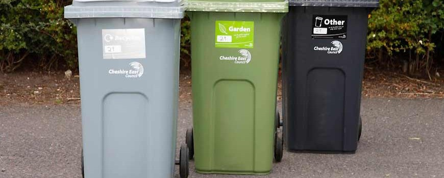 Cheshire East Wheelie Bins